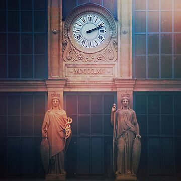 Gare du Nord by winggleam