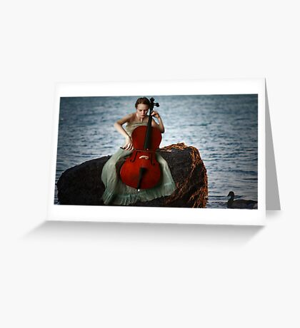 Swallowed in the Sea... Greeting Card