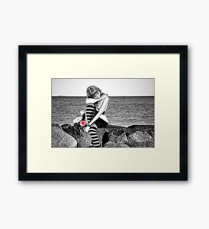 For No One... Framed Print