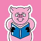 Pig Out On Books! by Eddie Fieg