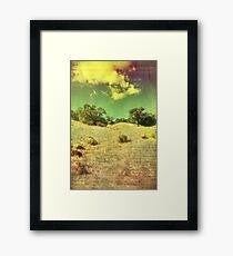 The Bright Happy Days Framed Print