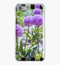 lovely purple sprocket flower iPhone Case/Skin