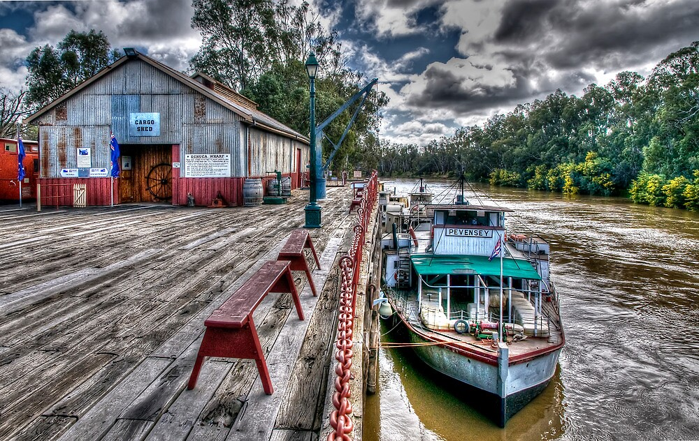 Port of Echuca by Jason Ruth