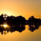 Runrise on the Lake by Greg Halliday