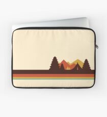 Happy Camper (Retro, 70er Jahre, Camping) Laptoptasche