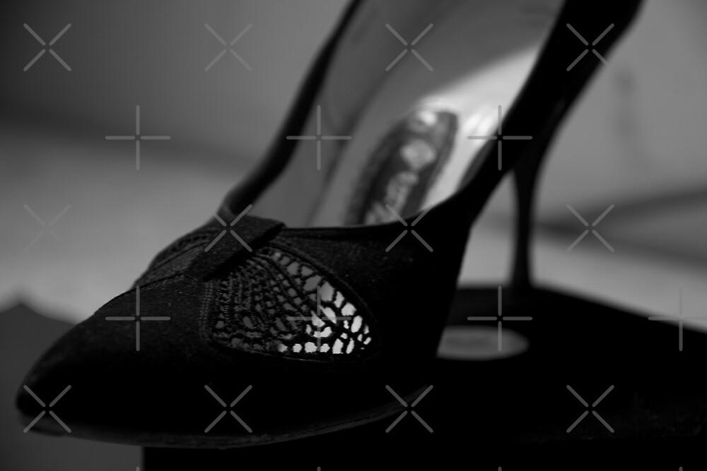 Black Vintage Shoe by Raquel Fletcher