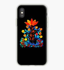 Fire and Water Flower iPhone Case