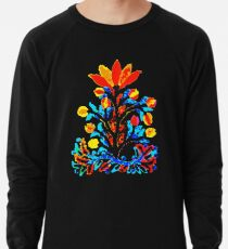 Fire and Water Flower Lightweight Sweatshirt