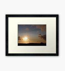 Grainin Dreams  Donegal Ireland Framed Print