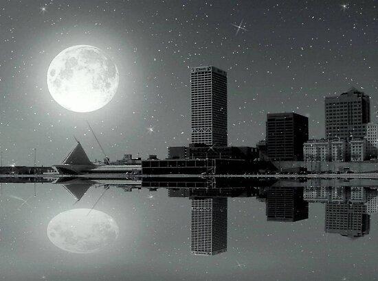 Downtown Milwaukee...Lake View ©  by Dawn Becker