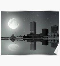 Downtown Milwaukee...Lake View ©  Poster