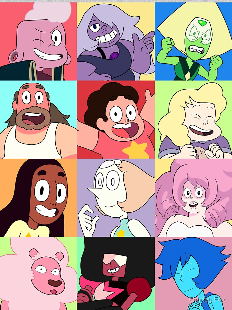 Steven Universe™ Character Set! by CharleyFox