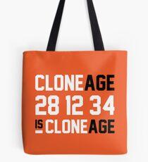 Cloneage Is Cloneage (Orange Ver.) Tote Bag