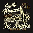 Santa Monica Beach  by scooterbaby