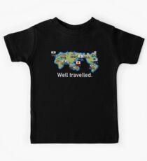 Well Travelled Kids Tee
