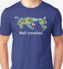 Well Travelled Unisex T-Shirt