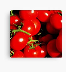 Red Red Tomato Canvas Print