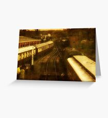 Blue Bell Railway-UK ©  Greeting Card