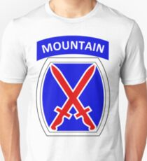 10th Mountain Division Logo T-Shirt