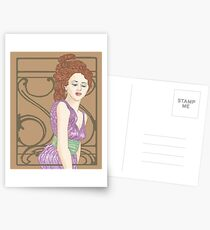 Golden Mucha Postcards