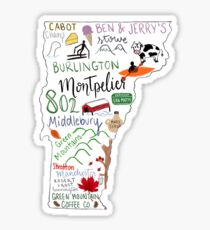 Vermont State Highlights 2 Sticker