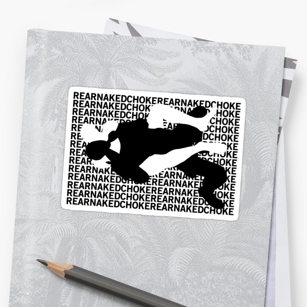 Jiu Jitsu MMA Rear Naked Choke by yin888