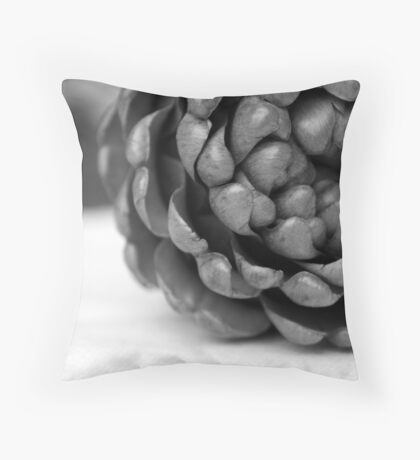 Choking Up Throw Pillow