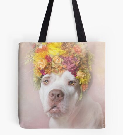 Flower Power, Baby Tote Bag