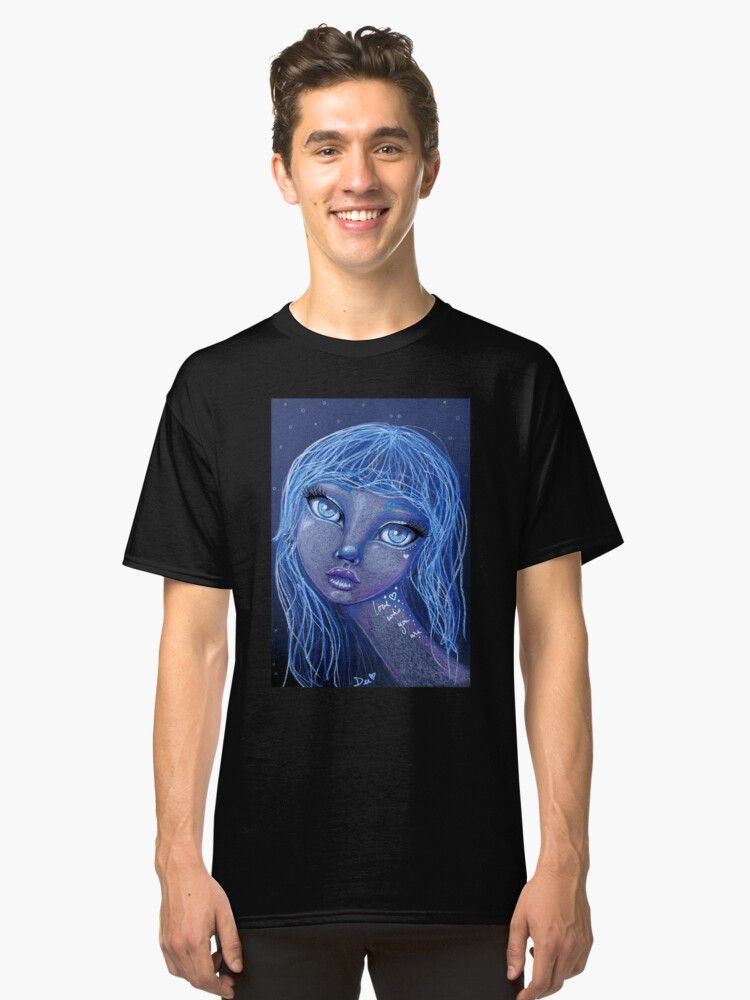 Alternate view of Love Who You Are Classic T-Shirt