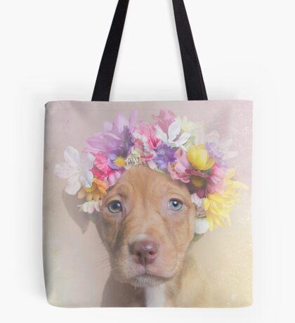 Flower Power, Rome Tote Bag