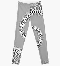 3d #Abstract Drawing #Spiral, #Helix, Scroll, Loop, Volute, Spire, #Hypnotic, Mesmeric, Psychedelic, Mind-Blowing Leggings