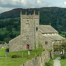 Hawkshead Church by Jamie  Green