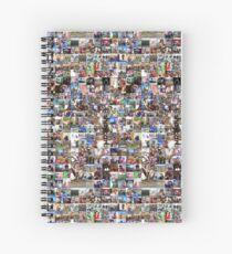 Shaytards - Shaycarl Instagram Raster-Collage Spiralblock