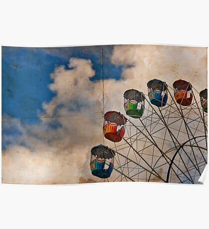 Postcard of Adelaide Ferris Wheel Poster