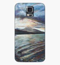 Bronze Waves Case/Skin for Samsung Galaxy