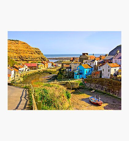 Staithes Harbour Photographic Print