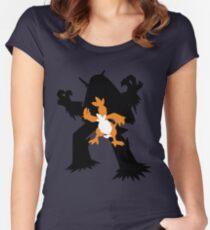 Torchic - Combusken - Blaziken Women's Fitted Scoop T-Shirt
