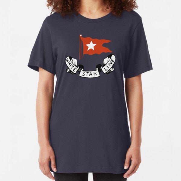 White Star Line (Titanic) Slim Fit T-Shirt Unisex Tshirt