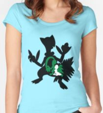 Treecko - Grovyle - Sceptile Women's Fitted Scoop T-Shirt