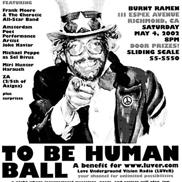 The Freedom To Be Human Ball by frankmoore