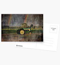 John Deere Double Rainbow Postcards