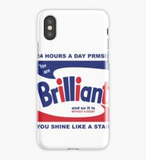 Brillo Brilliant (remembering Andy Warhol) iPhone Case/Skin