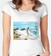 Testing The Water Women's Fitted Scoop T-Shirt