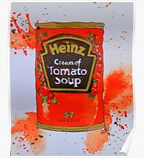 Heinz Tomato Soup Poster