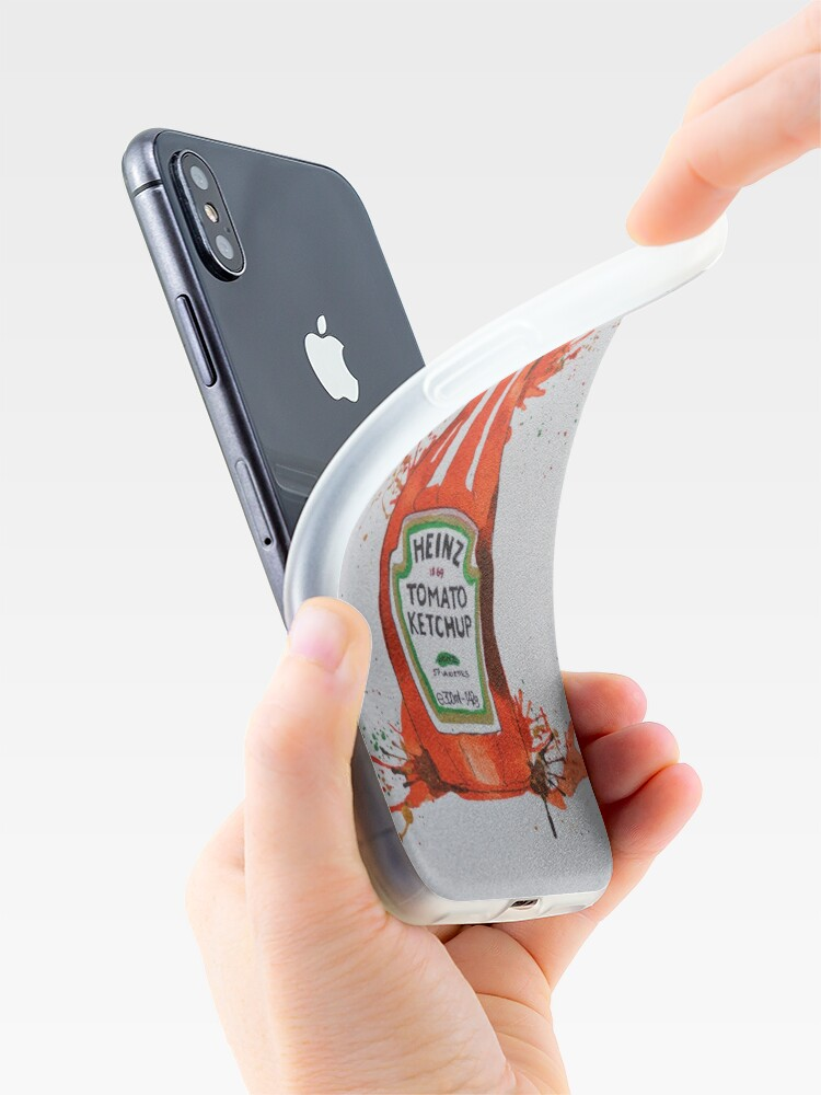 Alternate view of Heinz Tomato Ketchup Bottle iPhone Case & Cover