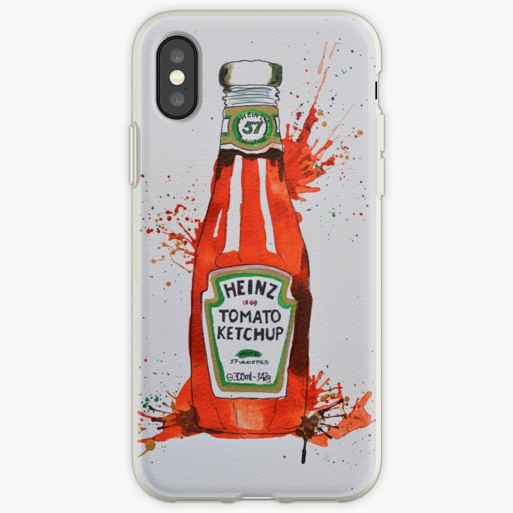 Heinz Tomato Ketchup Bottle iPhone Case & Cover