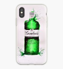 Gordons's Dry Gin Bottle iPhone Case