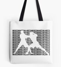 Mixed Martial Arts Cage Fighting Tote Bag