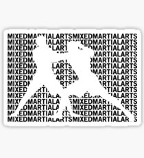 Mixed Martial Arts Cage Fighting Sticker