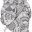 bright tangle by Vickie Simons